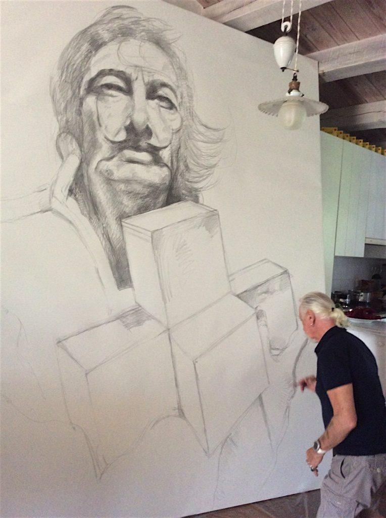 sketch-portrait-salvador-dali